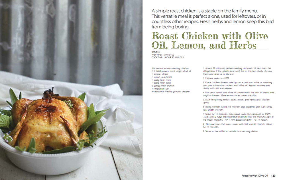 roast chicken evoo